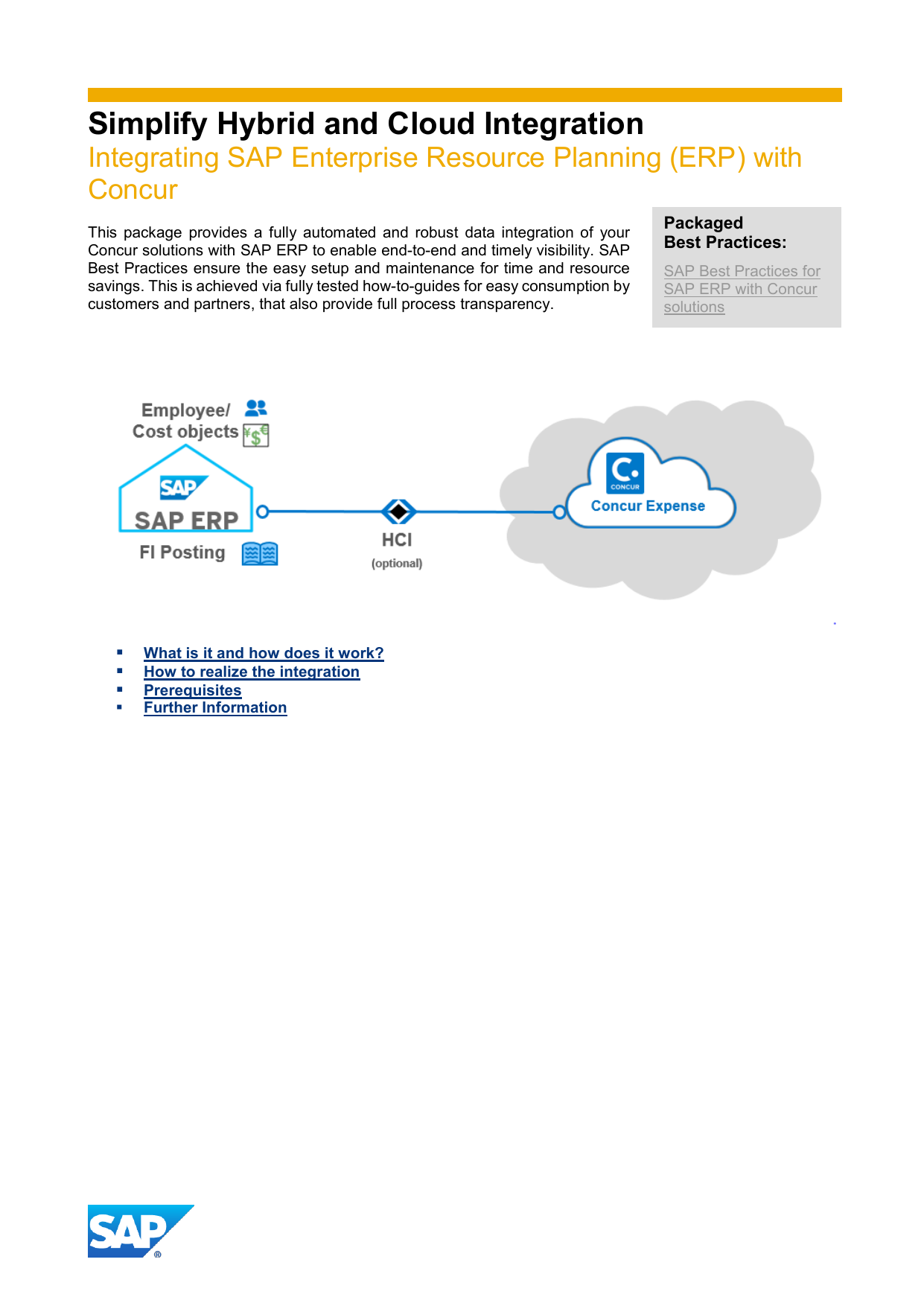 Simplify Hybrid and Cloud Integration