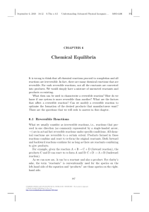 Chemical Equilibria - Beck-Shop