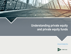 Understanding private equity and private equity funds