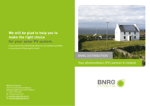 We will be glad to help you to make the right choice for your solar PV