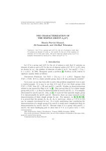 NSE CHARACTERIZATION OF THE SIMPLE GROUP L2(3n) Hosein