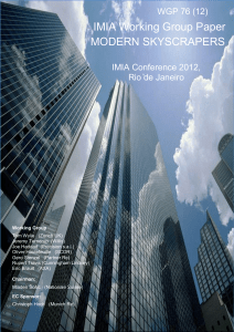 TABLE OF CONTENTS - IMIA, the International Association of