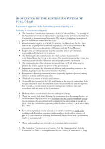 1b overview of the australian system of public law
