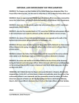 national law enforcement day proclamation