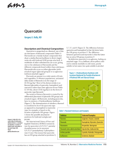 Quercetin - Alternative Medicine Review