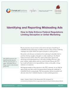 Identifying and Reporting Misleading Ads