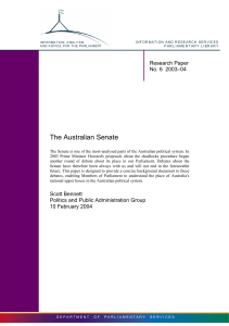 The Australian Senate - Parliament of Australia