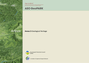 Annex 2:Geological Heritage