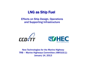 2013, HEC, LNG: Effects on Ship Design
