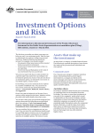Investment Options and Risk