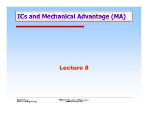 Lecture 8 - Engineering