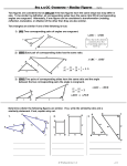 Sec 1.3 CC Geometry – Similar Figures