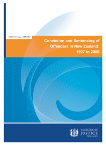 Conviction and Sentencing of Offenders in New