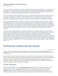 The Roosevelt Corollary and Latin America