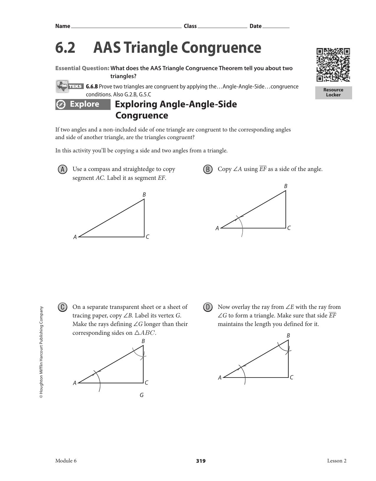Worksheet Triangle Congruence Worksheets Worksheet Fun Worksheet