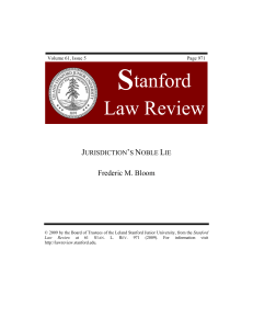 Volume 59, Issue 1 - Stanford Law Review