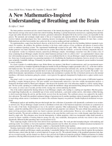 A New Mathematics-Inspired Understanding of Breathing and the