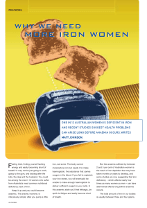 Why we need more Iron Women