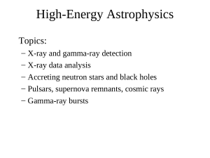 Introduction - University of Iowa Astrophysics