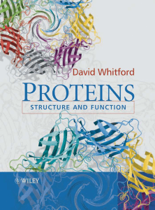 5 The structure and function of membrane proteins