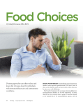 Food Choices and GI Symptoms