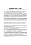 Barry Cryer Biography
