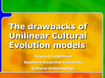 Cultural Evolution models and their tragic flaws