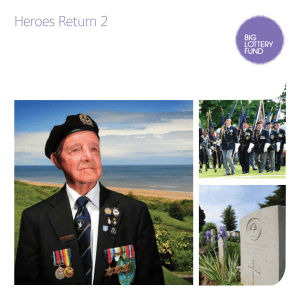 Heroes Return Information Booklet - Fleet Air Arm Officers Association