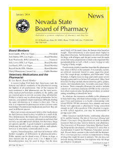 News Nevada State Board of Pharmacy