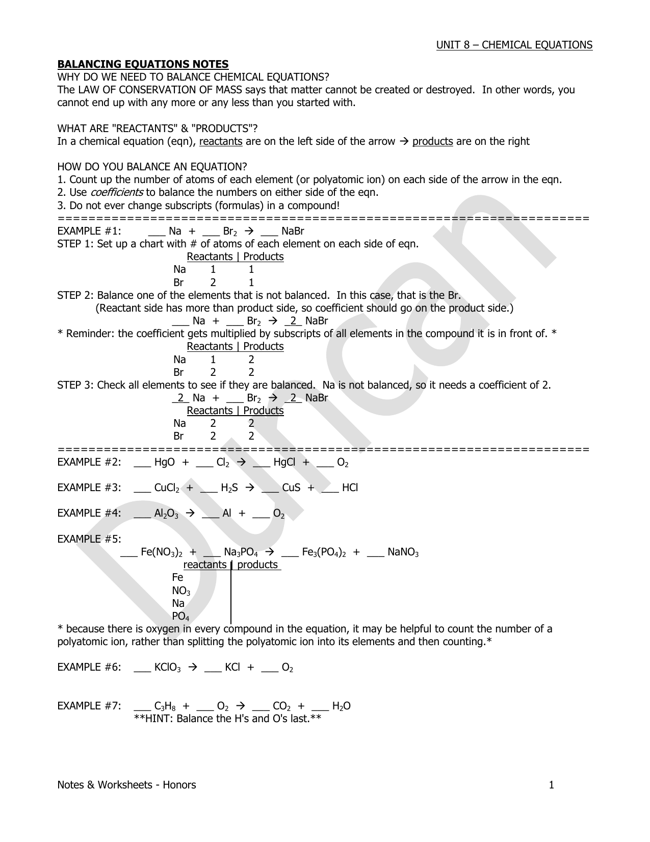 Bestseller: Gizmo Balancing Chemical Equations Worksheet ...
