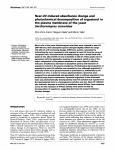 Near-UV-induced absorbance change and