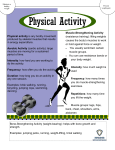 Physical Activity Fact Sheet