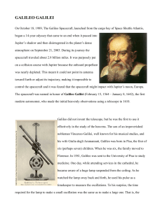 GALILEO GALILEI - A Chronicle of Mathematical People by Robert A