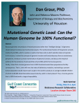 Mutational Genetic Load: Can the Human