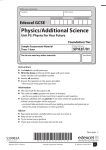 GCSE SAM Physics Booklet 2011.indd