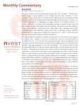 commentary - Nvest Wealth Strategies