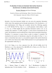 Evaluation of atom-environment interaction based on decoherence