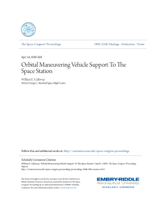 Orbital Maneuvering Vehicle Support To The Space Station