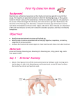 Fetal Pig Dissection Guide Background: Objectives: Materials: Day 1