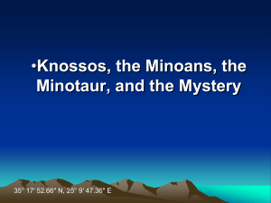 The Minoans PPT