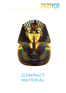 Compact Material: The Discovery of the Tomb, Pharaohs, and Gods