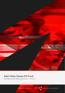 AAA Video Games EIS Fund