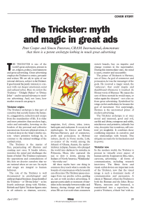 The Trickster: myth and magic in great ads