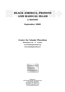 Black America, Prisons and Radical Islam: a Report