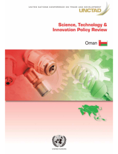 Science, Technology and Innovation Policy Review - Oman