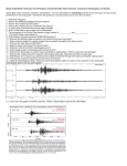 21. Look over this graph of seismic activity. Make 3 observations