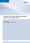 Resonant LLC Converter: Operation and Design