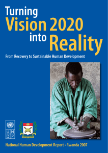 Turning Vision 2020 into Reality