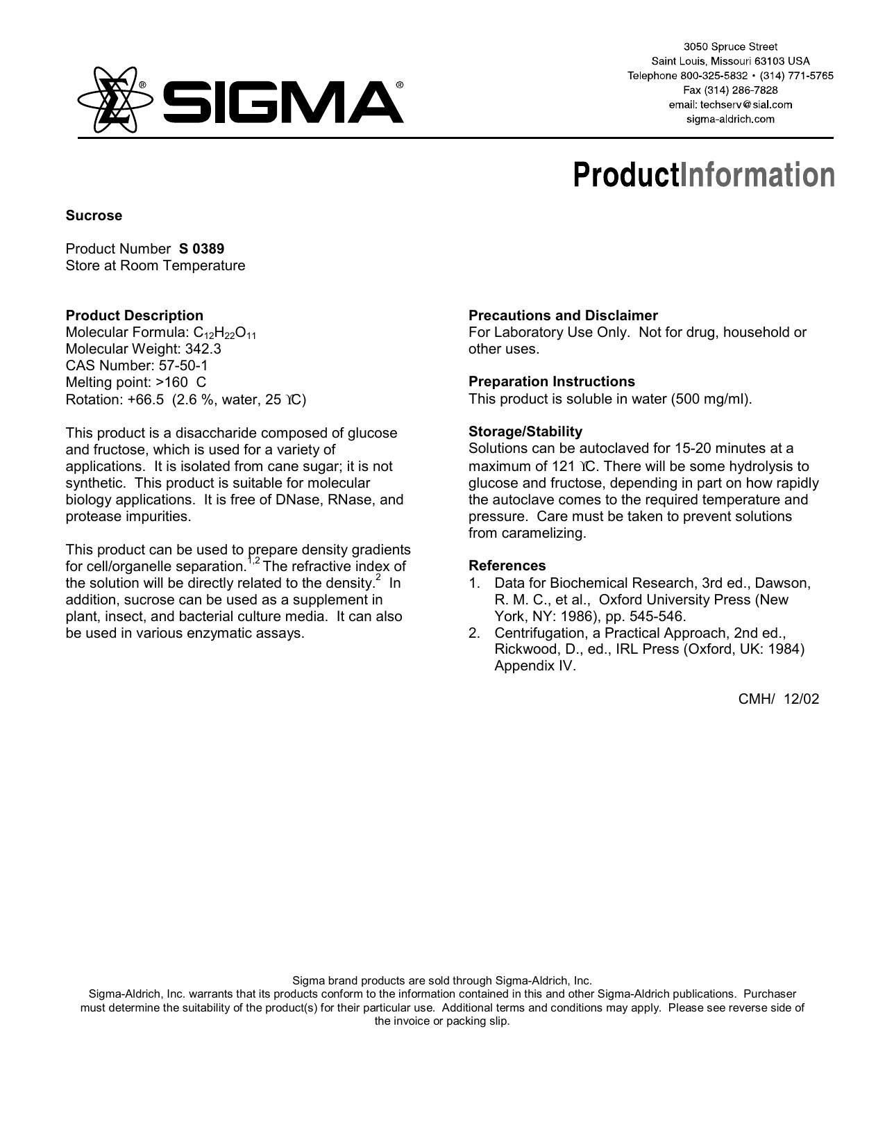 aldrich chemical catalog