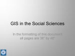 GIS in Anthropology, Archaeology